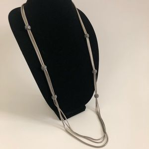 The Ink Silver Necklace